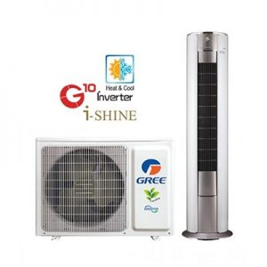 Gree GF-24ISHAA+ 2 ton DC Inverter Heat & Cool Floor Standing – WiFi